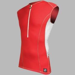 DESOTO Men Carrera Tri Jersey RED