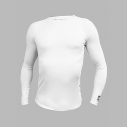MEN SKIN COOLER SDS LONG SLEEVE WITH ICE POCKETS WHITE