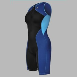 Woman Forza Riviera Trisuit with Full Body Compression BLUE