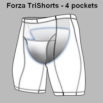 DE SOTO Forza Tri Short 4-Pockets