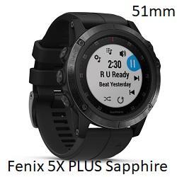 FENIX 5X PLUS SAPPHIRE