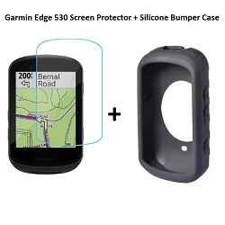 QUICK-SPORT Bundle Edge 530 Screen Protector & Bumper Case