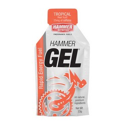 HAMMER - ENERGY GEL TROPICAL CAFF - 10 PACKS