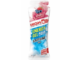 HIGH5 AQUA BERRY CAFFEINE (ISO GEL)