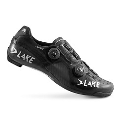 LAKE - CX403 WIDE CARBON ROAD SHOES BLK