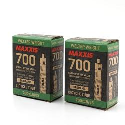 MAXXIS - 700x18/25 80MM PRESTA VALVE [DOUBLE]