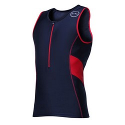Mens Activate Tops Black/Red