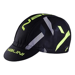 CYCLING CAP AIS ROCCA 2.0 BLACK FLUO