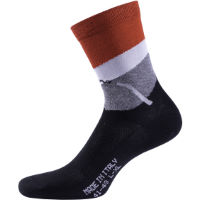 PRO CYCLING SOCKS FOLGORE H19 BLK RED