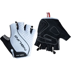 NALINI CLOSTER MEN GLOVES WHT BLK