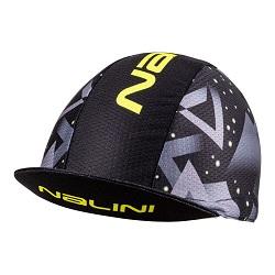 NALINI ELMONT CYCLING CAP BLK FLUO YEL