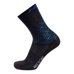 NALINI REDMON SOCKS BLK BLUE