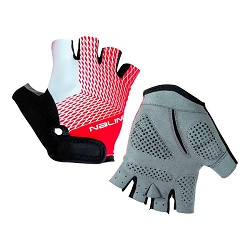 NALINI ROXANA WOMEN GLOVES BLK RED