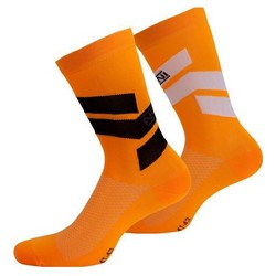 NALINI STRIPE SOCKS CYCLE - ORANGE