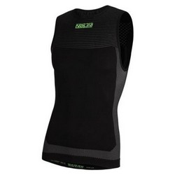 NALINI AIR TANK SLEEVELESS BASE LAYER - BLACK