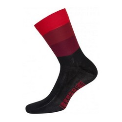 NALINI BLUE SUMMER SOCKS - RED