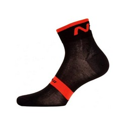 NALINI NA SOCKS CYCLE - BLACK RED