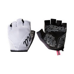 NALINI PINK GLOVES - WHITE