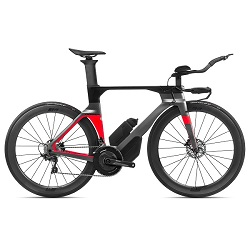 ORBEA ORDU TRI BIKE M20LTD SILVER RED