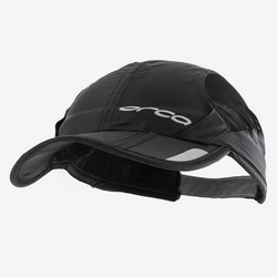 ORCA FOLDABLE RUN CAP BLACK