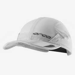 ORCA FOLDABLE RUN CAP WHITE