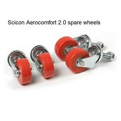 SCICON WHEEL + SCREW FOR AEROCOMFORT (1PC)