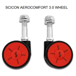 SCICON - AEROCOMFORT 3.0 SPARE WHEELS (2PCS)