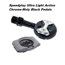 ULTRA LIGHT ACTION PEDAL SYSTEM (CHROME-MOLY)