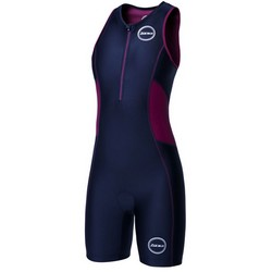 Womens Activate Tri Suits Black/Wine