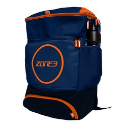 Transition Backpack – Navy/Orange/Grey