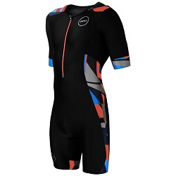 Mens Activate Plus Short Sleeve Trisuit Midnight Camo