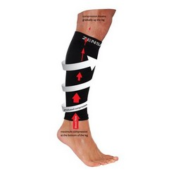 ZENSAH - COMPRESSION LEG SLEEVE (COLORS)