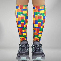 PUZZLE COMPRESSION LEG SLEEVES