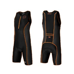 Children Tri Suit Black/Hi-Vis Orange