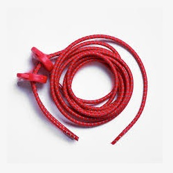 ELASTIC SHOE LACE - RED