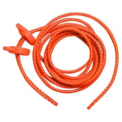 ELASTIC SHOE LACE - ORANGE