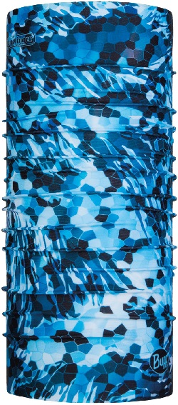 BUFF Angler UV BS Mosaic Camo Marine Blue