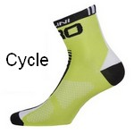 Cycling specific socks.